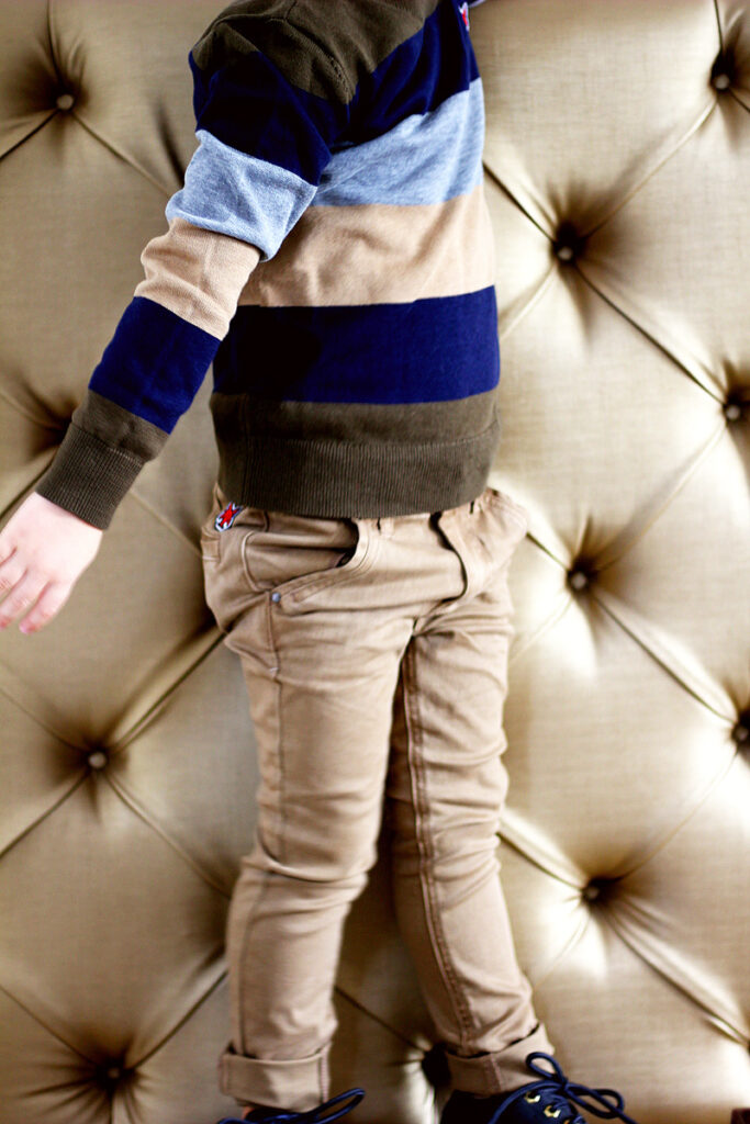 gestreepte trui jongen, pullover jongen, nette jongenskleding