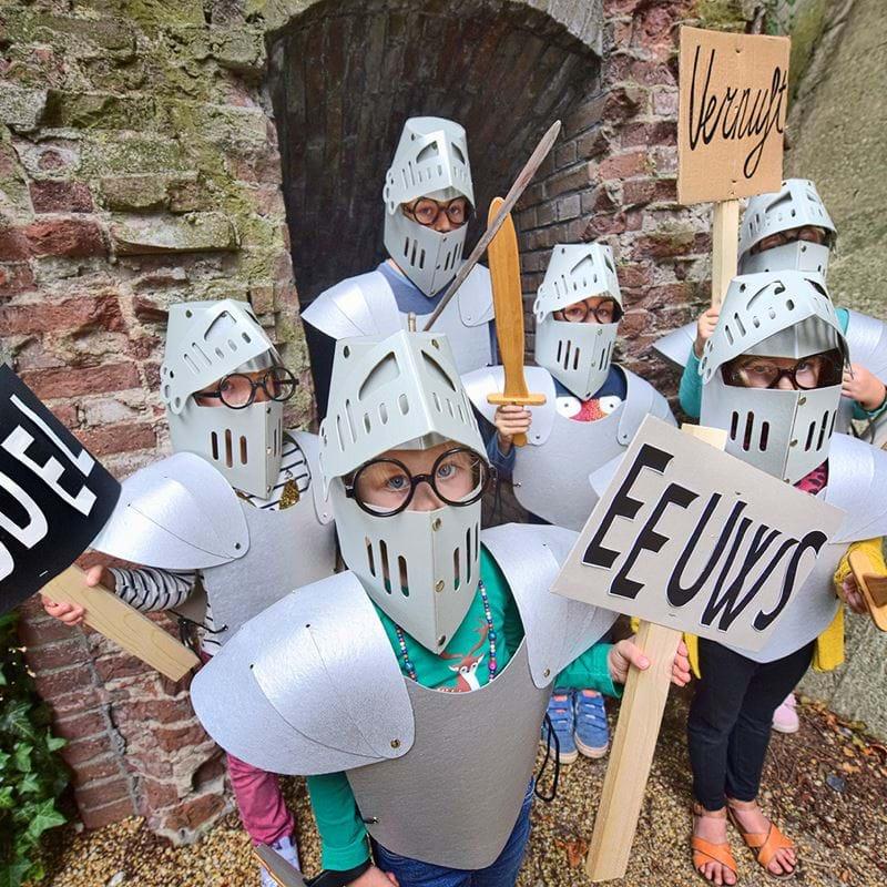 herfstvakantie uittips, middeleeuws vernuft, ridders en kastelen