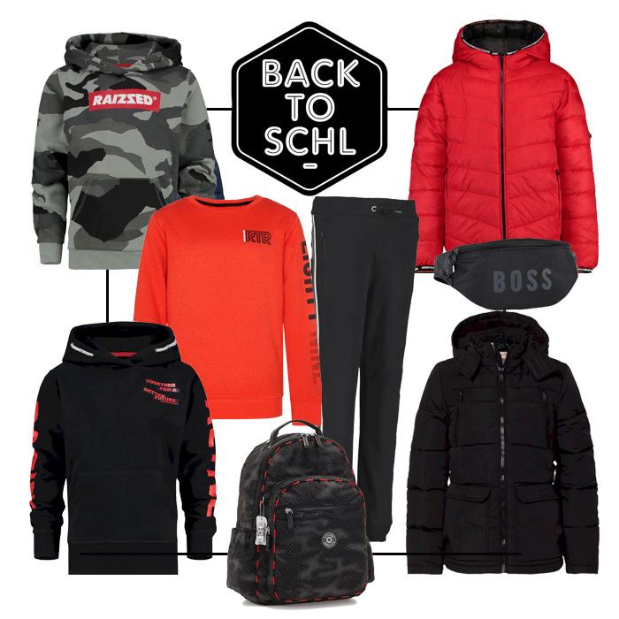 rode kinderkleding, zwart rood kinderkleding, stoere jongenskleding, back to school. back2school