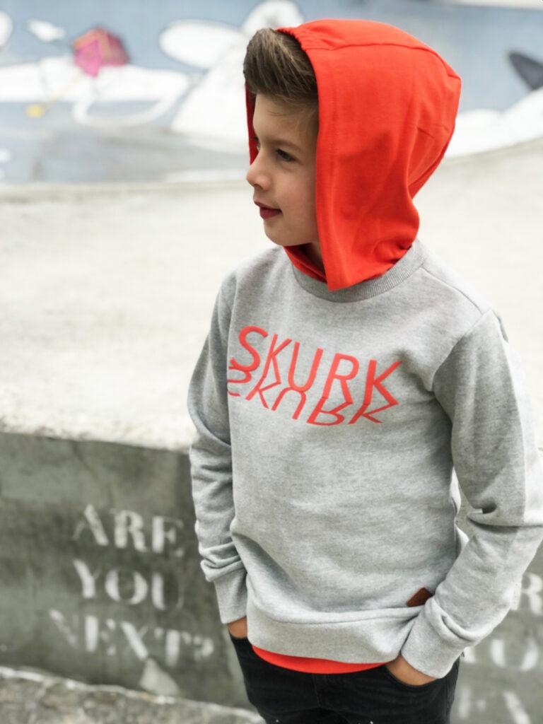 skurk sweater, skurk hoodie, skurk hoody, jongenssweater, jongenstrui, kinderkleding winnen