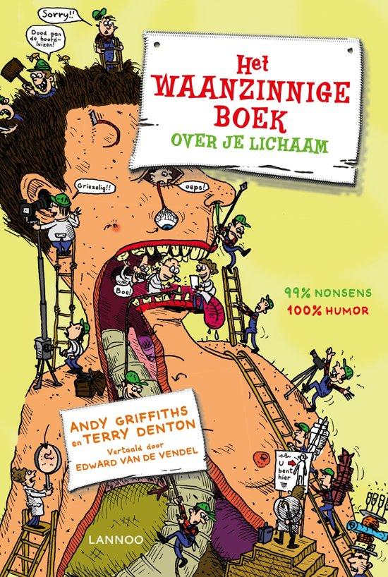 kinderboeken top 10, het waanzinnige boek over je lichaam