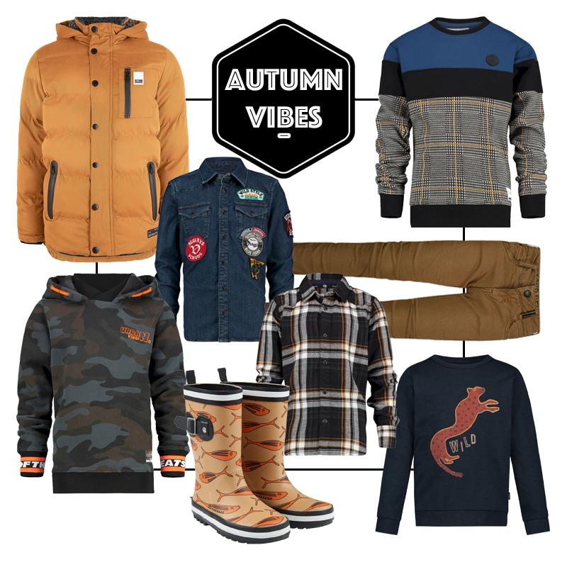 herfstkleding jongens, get the look jongens kleding, shopping collage kindermode, boyslabel, herfst, autumn vibes