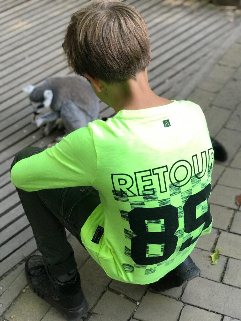 retour jeans 2019, neon kinderkleding