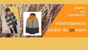 winterjassen onder de 50 euro