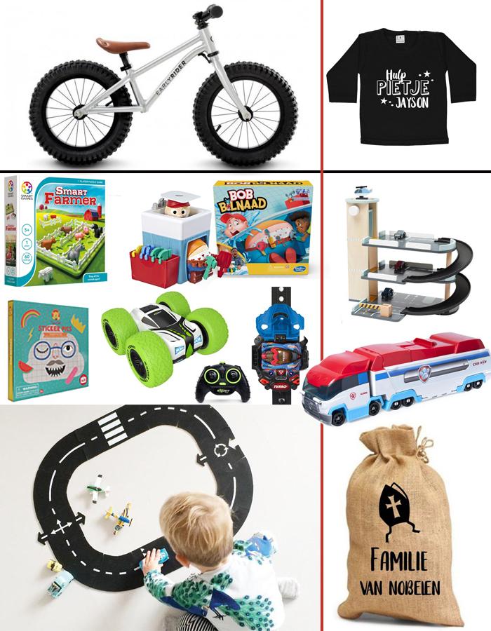 Sinterklaascadeautjes, Sinterklaas cadeau jongens, sint kado jongen 3 jaar, sinterklaas cadeau kind 4 jaar