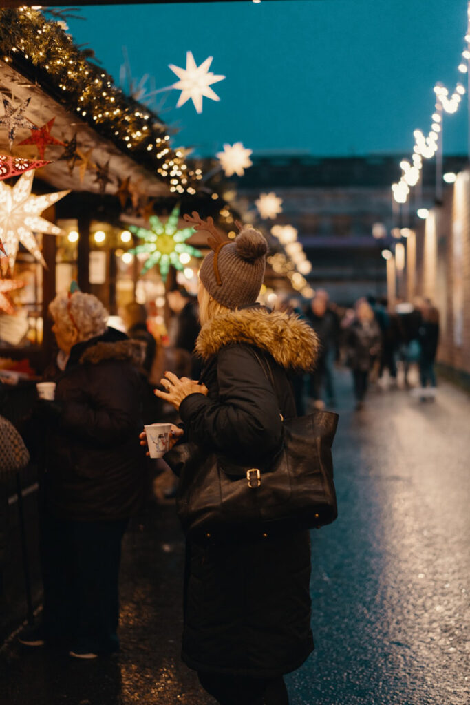 kerstuitje met hele gezin, kerstuitjes voor het hele gezin, kerstmarkt