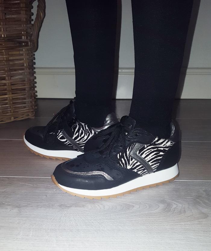 sneakers voor meisjes, zebra sneakers, shoesme sneakers