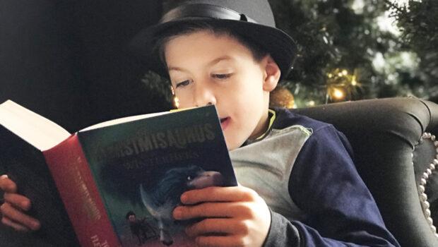 kerstmissaurus, kerstboek