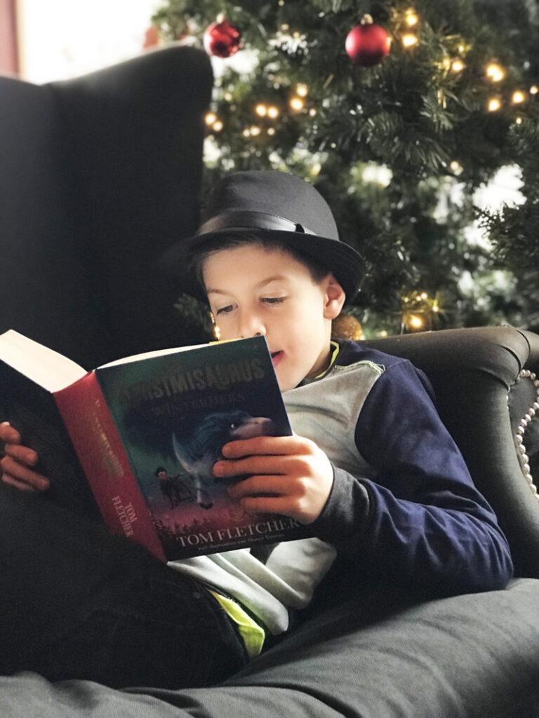 kerstmissaurus, kerstboek, De Kerstmisaurus en de winterheks