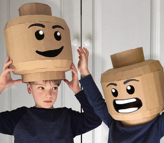 sinterklaas surprise maken, LEGO surprise, LEGO hoofd maken