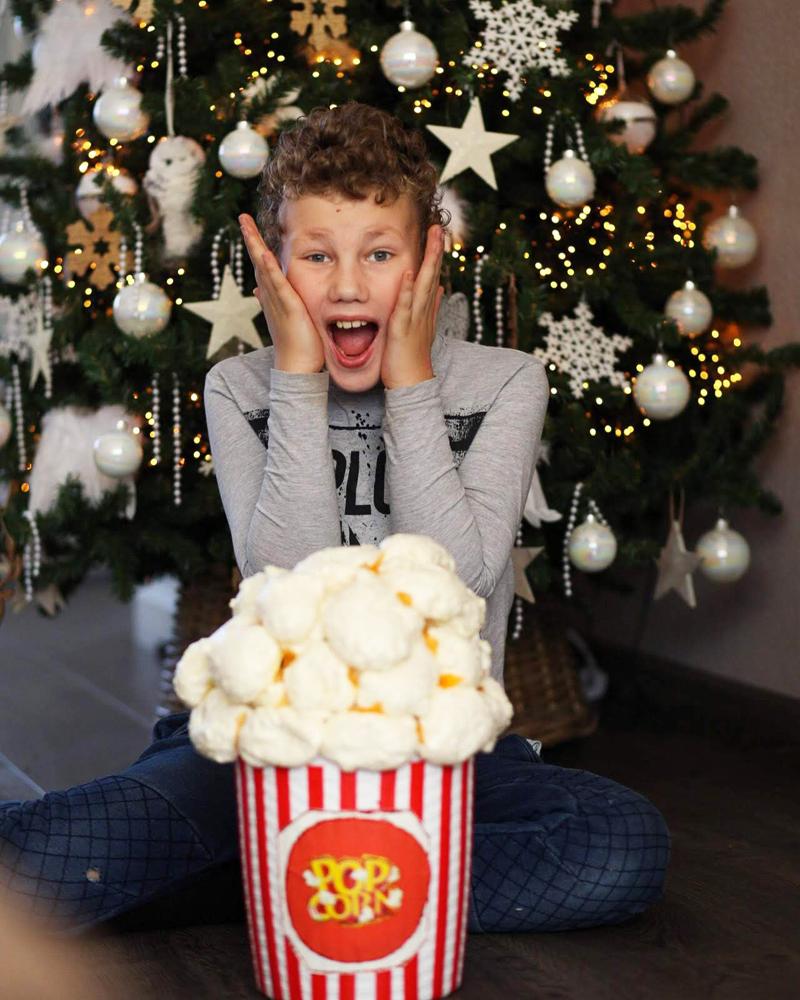 sinterklaas surprise maken, kinder surprise maken, popcorn surprise maken