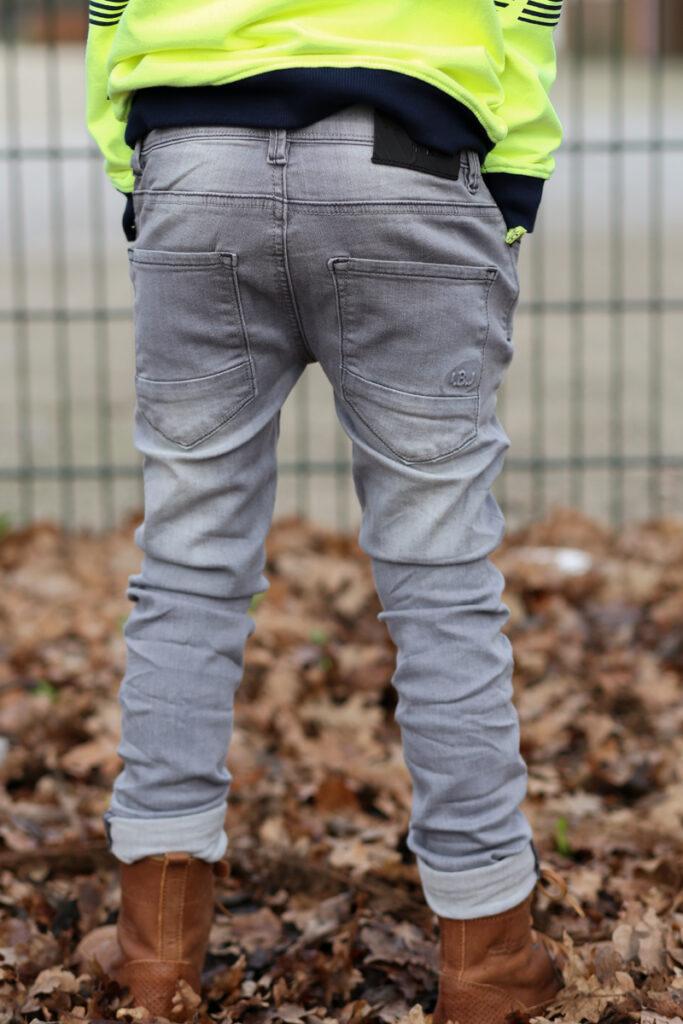 indian blue jeans, kinder spijkerbroek, grijze jeans jongens