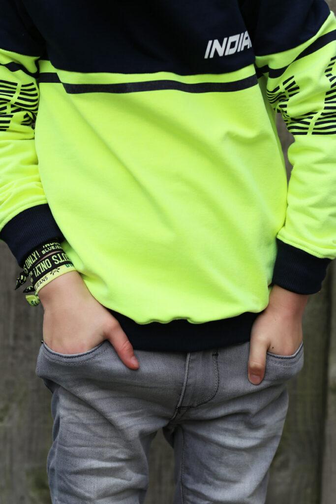 kinder spijkerbroek, grijze jeans jongen