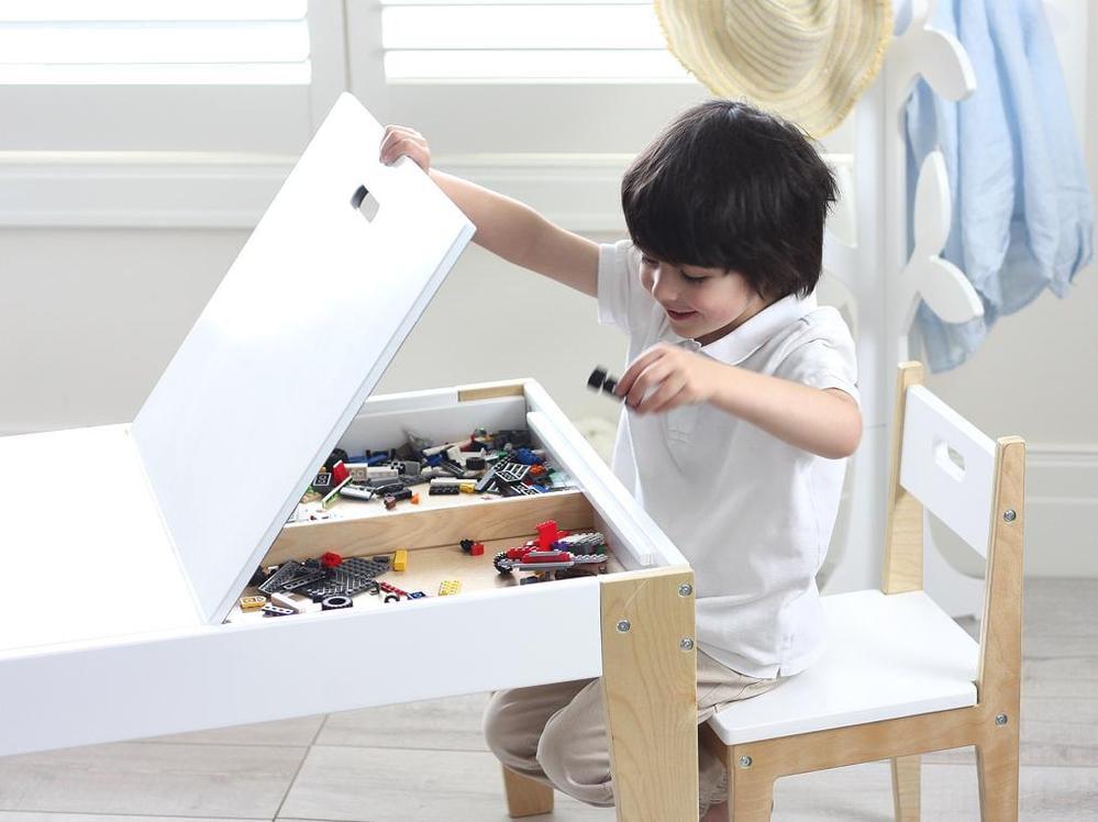 speelgoed opberger, speeltafel, kindertafel
