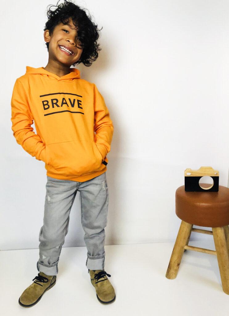 LEVV boys, levv, stoere jongenskleding, zomer 2020, BRAVE sweater, jongens sweater
