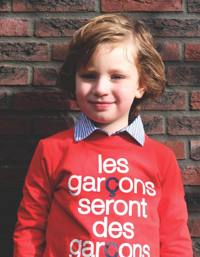 Le chic garçon sweater, Le chic garçon review, nette jongenskleding