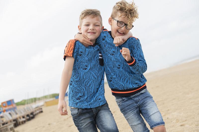 blauwe shirt jongen, blauwe sweater jongen