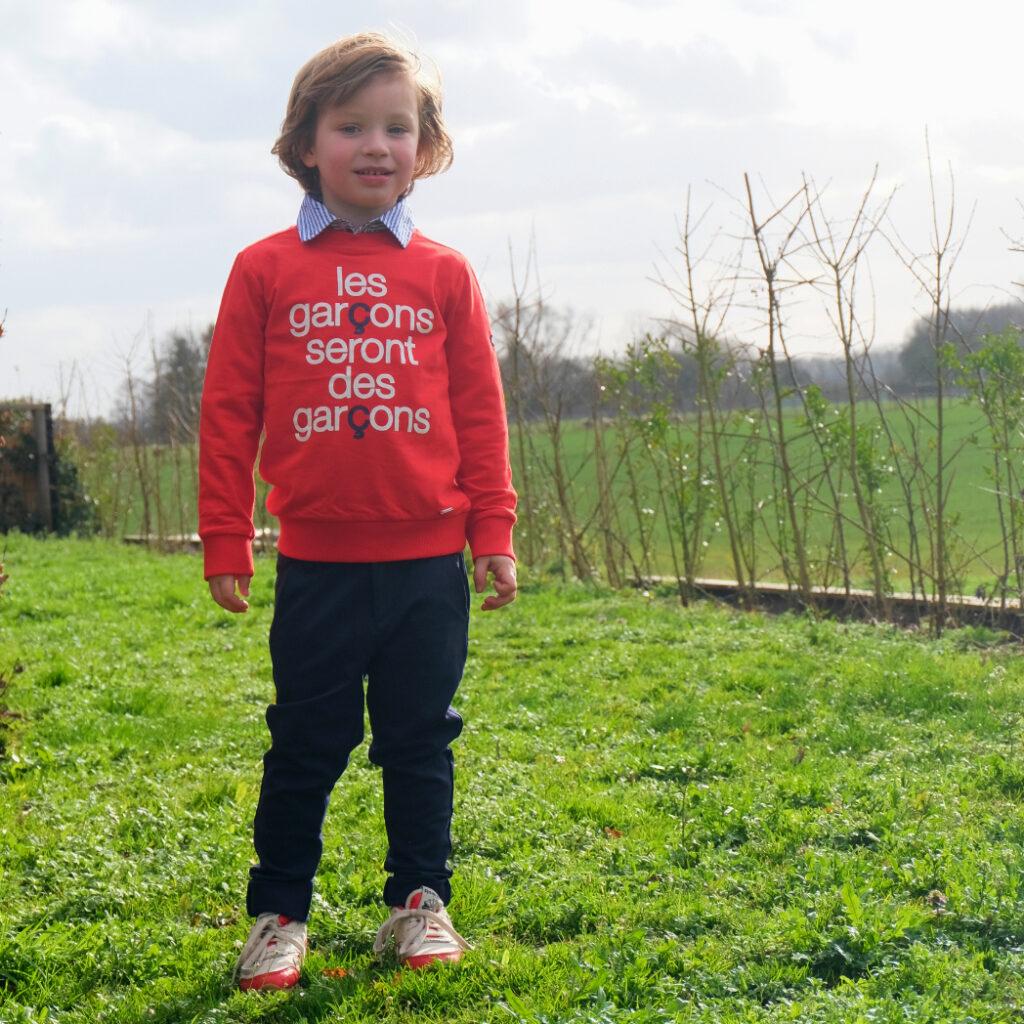 paaskleding jongen, Le chic garçon