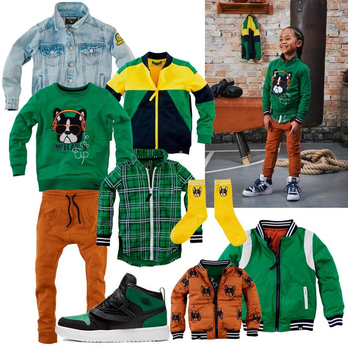 z8 jongens, z8 boys, groene jongenskleding, sportieve jongenskleding, jongenskleding maat 116, z8 maat 116, z8 maat 110, z8 maat 98, kleuterjongen kleding