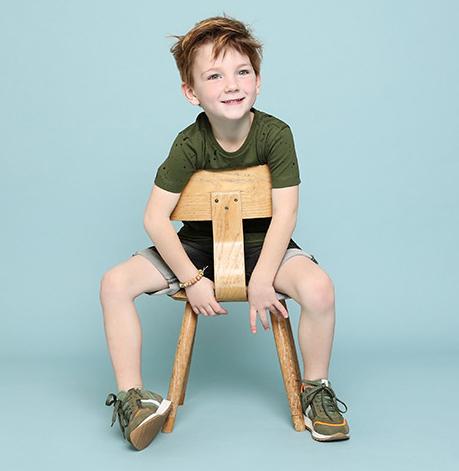 schoesme kinderschoenen, groene sneakers