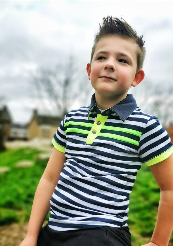 zomerkleding jongen, zomeroutfit jongen, gestreept poloshirt, legends22, jongenskleding, boyslabel, jongensmodeblog