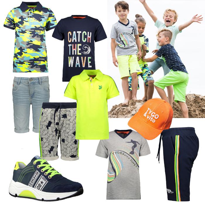 zomerkleding jongen, zomersetje jongen, tygovito, get the look jongens kleding