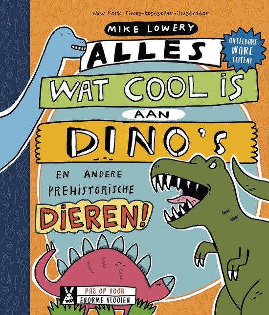 Alles wat cool is aan dino's, dino boek