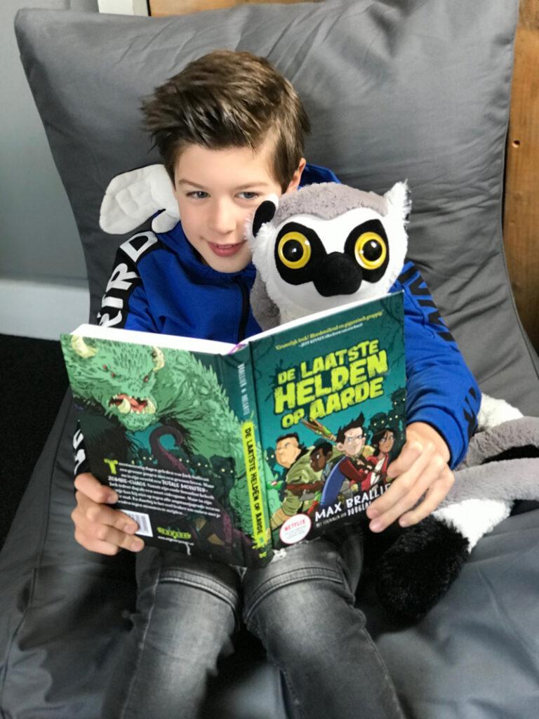 kinderboeken top 10, favoriete kinderboeken, boyslabel jongensboeken, de laatste helden op aarde, max brallier