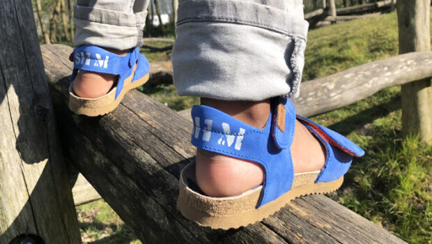 leren kindersandalen, goede kindersandalen, stoere jongens sandalen