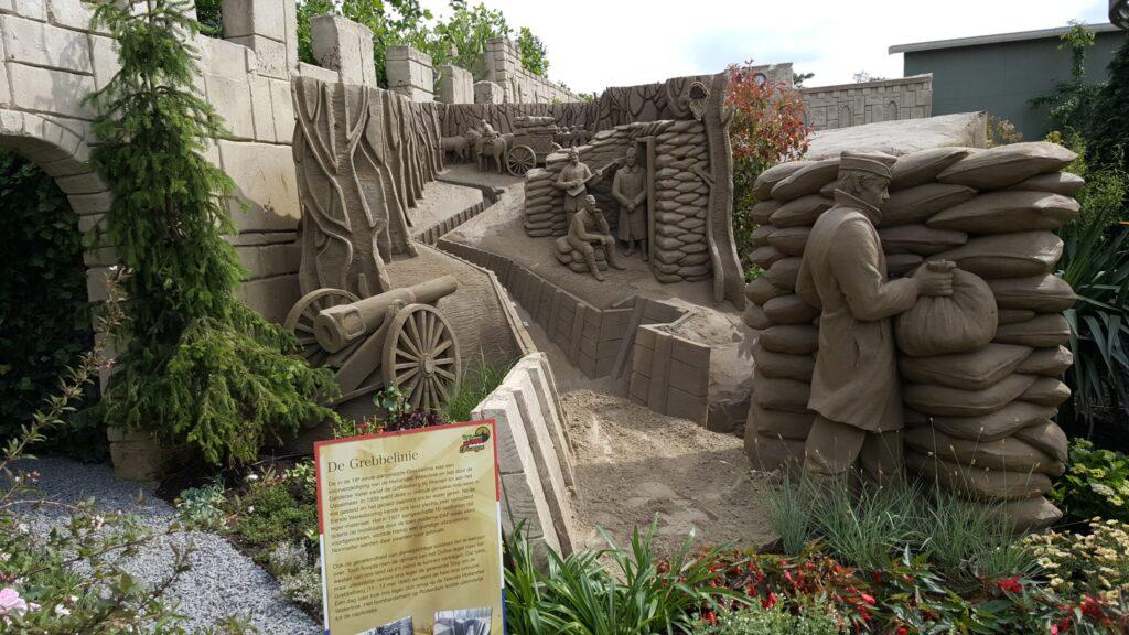 Zandsculpturen, Zandsculpturenfestijn barneveld