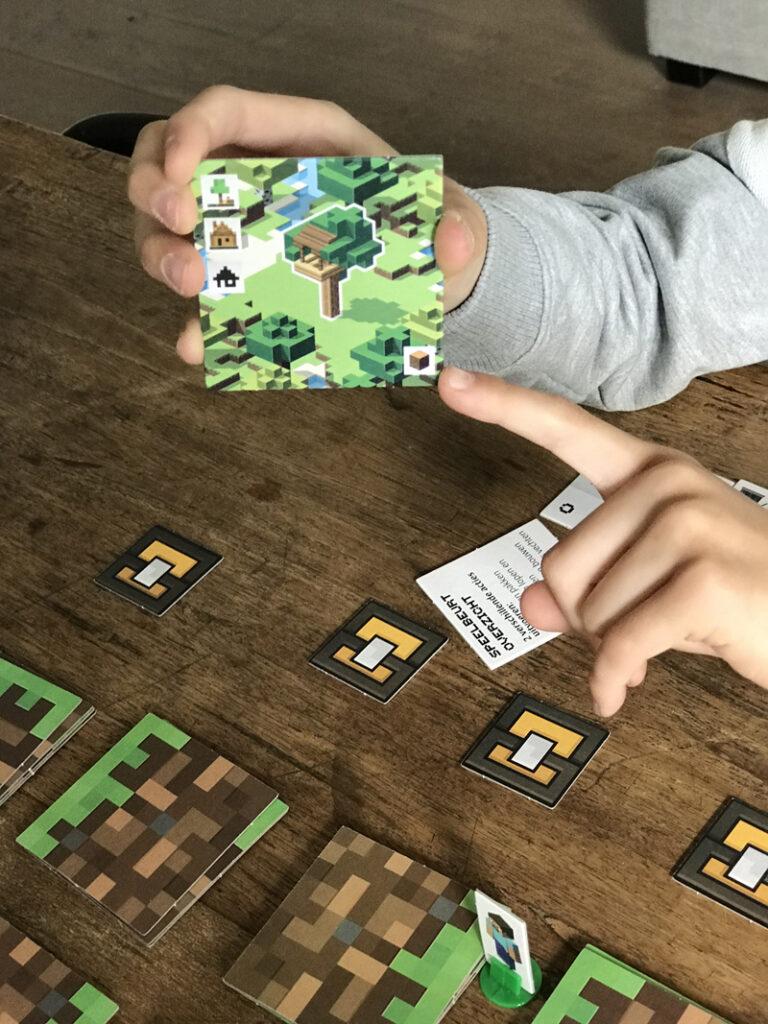 minecraft bordspel uitleg