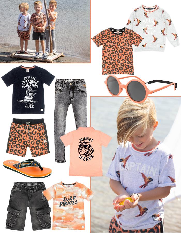 zomerkleding jongens, jongensmode zomer 2020, boyslabel