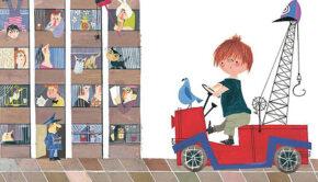 illustraties van Fiep Westendorp, kek amsterdam, behang jongenskamer