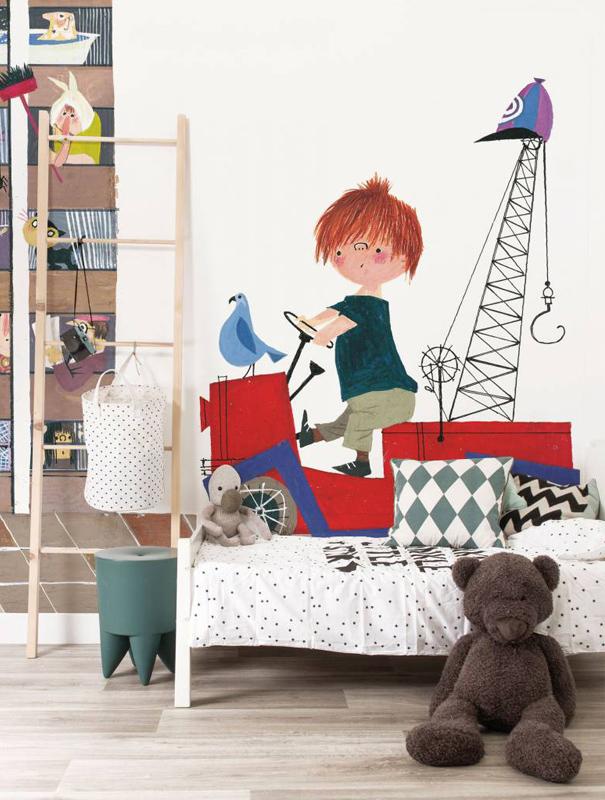 illustraties van Fiep Westendorp, kek amsterdam, behang peuterkamer