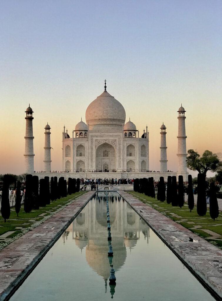taj mahal, india, india met kinderen, visum india