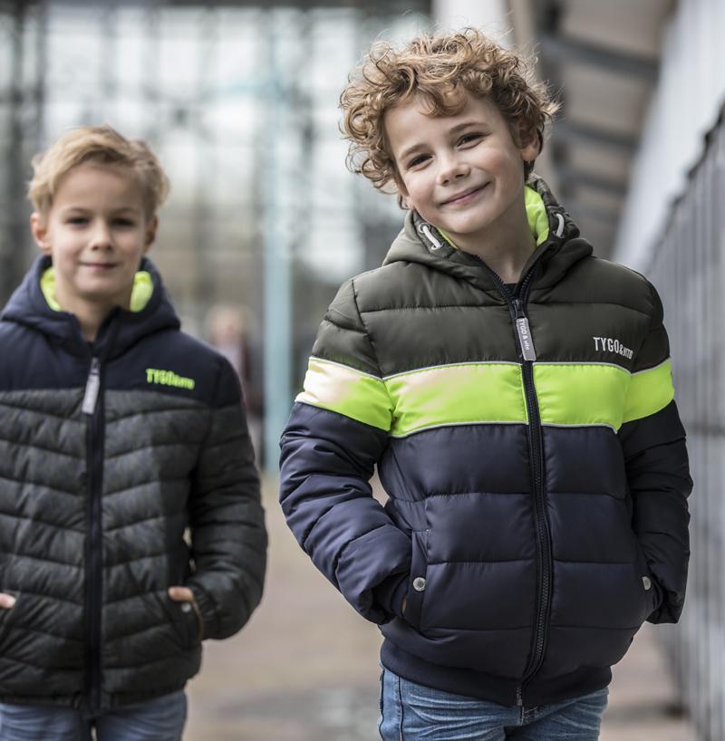 tygo vito, winterjas jongen, kindermode winter 2020-2021, stoere jongenskleding