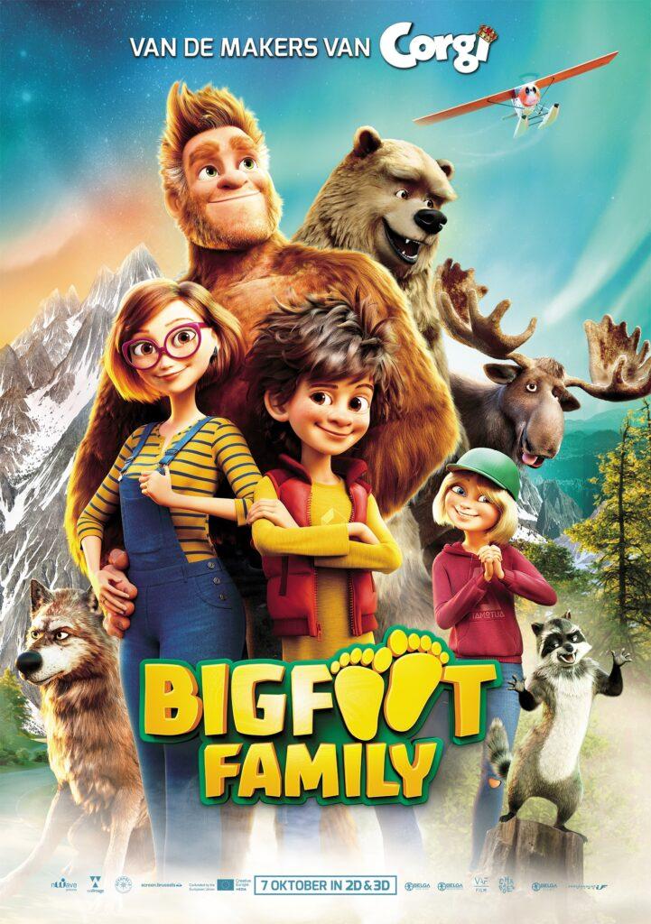 BIGFOOT, win bioscoopkaartjes, winactie BIGFOOT family film