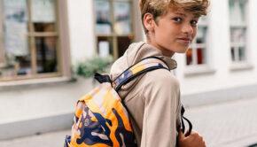 back 2 school, happybee, rugzak jongen
