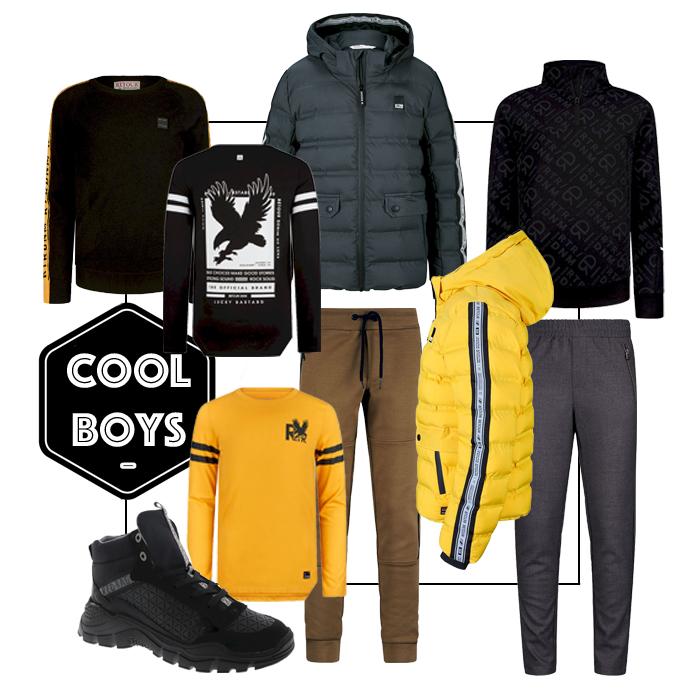 cool boys outfit, get the look jongens kleding, jongenskleding inspiratie, jongenskleding styling, glamour days, retour jeans korting, kinderkleding korting, jongenskleding korting