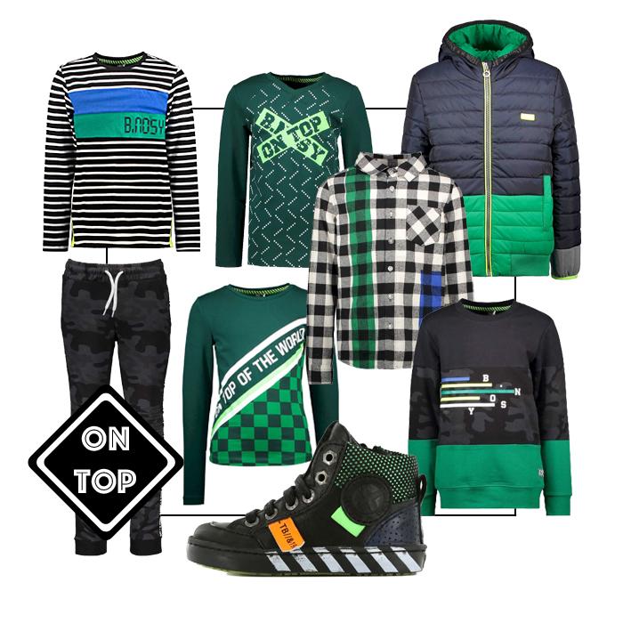 jongenskledinginspiratie, bnosy jongenskleding, GET THE LOOK jongens kleding