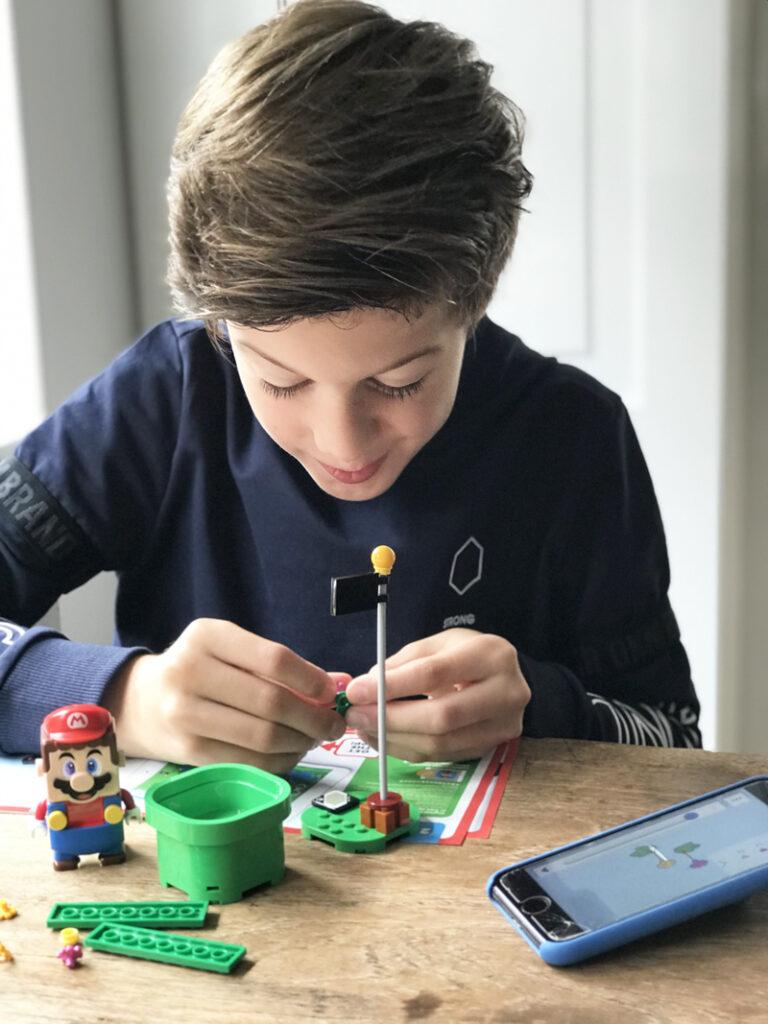 lego review, LEGO SUPER MARIO startset, LEGO MARIO review, speelgoed jongen 10 jaar, boyslabel, jongensblog