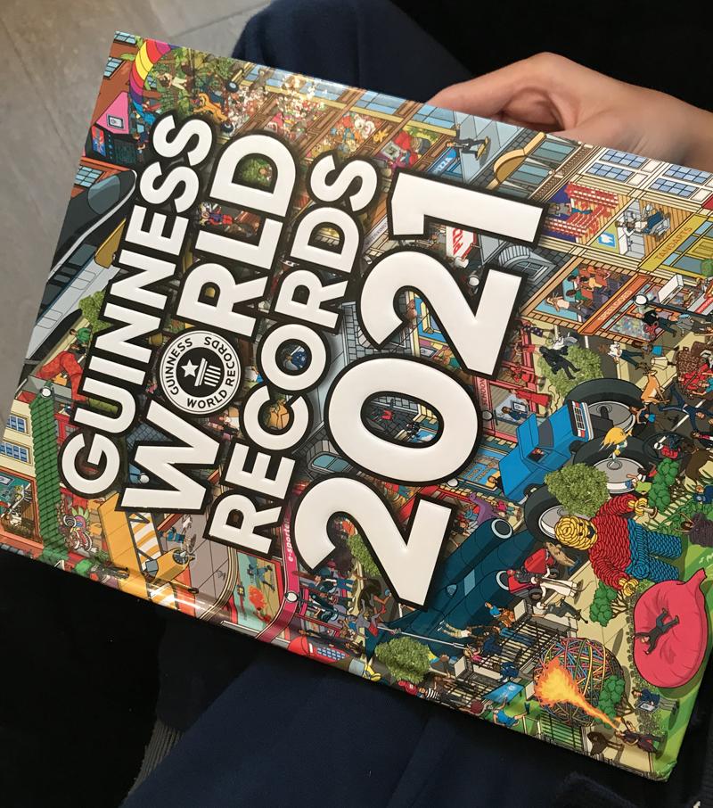 Guinness World Records 2021, mooi kijkboek, kijkboek kind