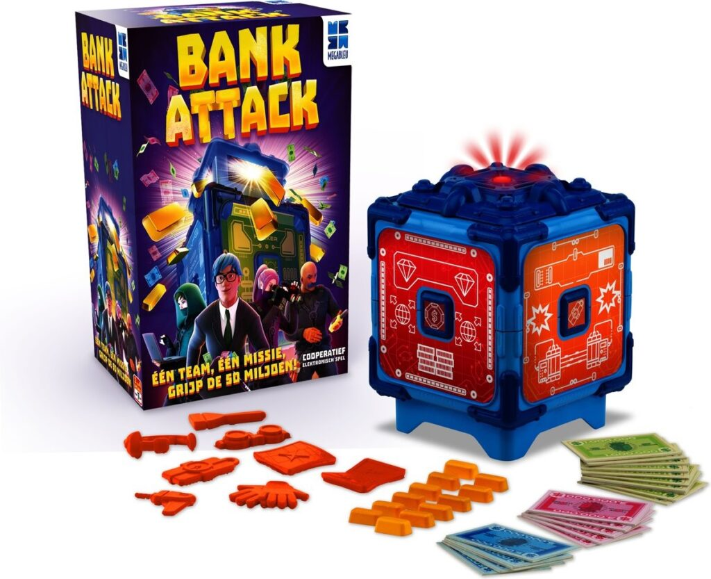 bank attack bank attack spel mega blue, speelgoed verkiezing van het jaar 2020