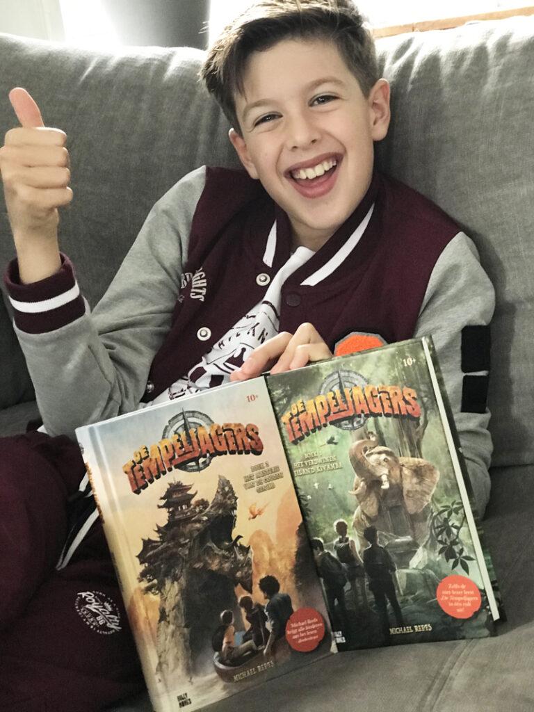 de tempeljagers, kinderboek, De Tempeljagers - Michael Reefs