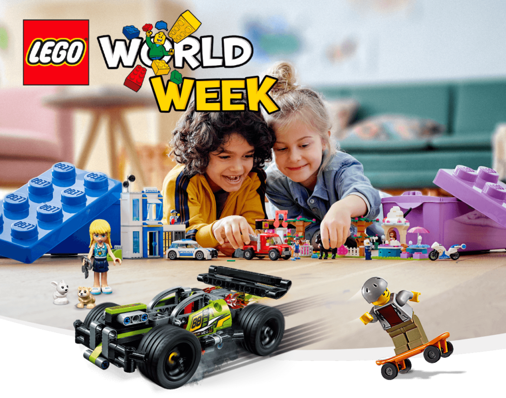 LEGO WORLD WEEK 2020, LEGO world 2020, herfstvakantie uittips