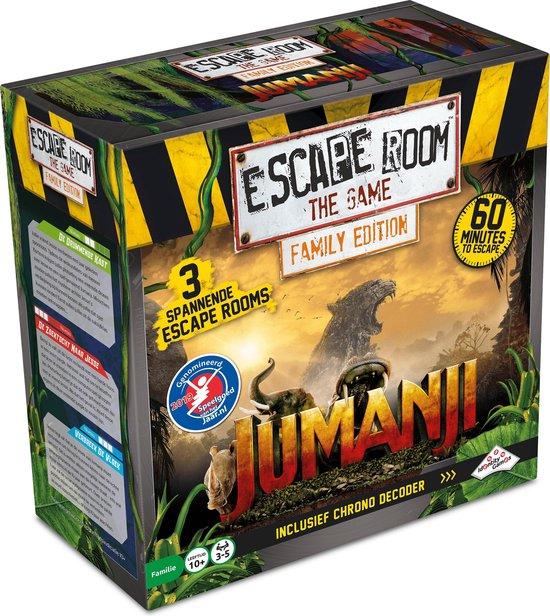 escape room jumanjji spel