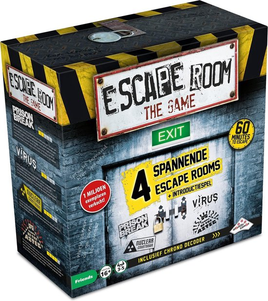 escape room spellen voor kinderen, escape room the game, identity games, escape room spellen