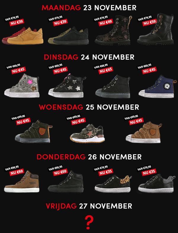 black friday kortingen, black week 2020, black friday 2020, shoesme korting, shoesme kinderschoenen korting, shoesme kortingscode