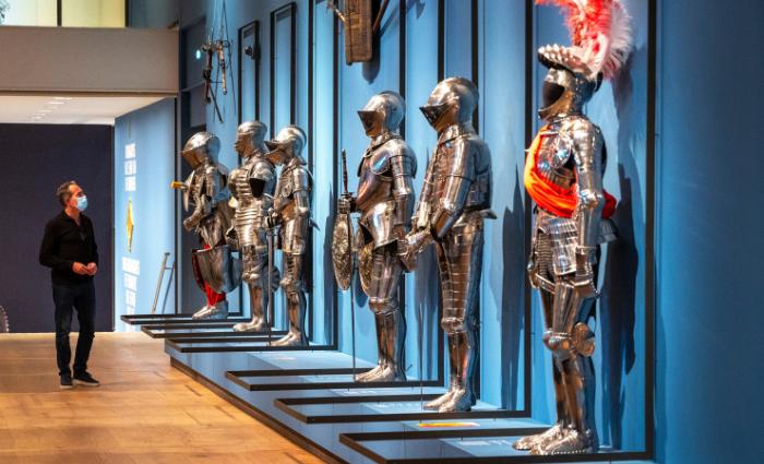 ridders in de hermitage