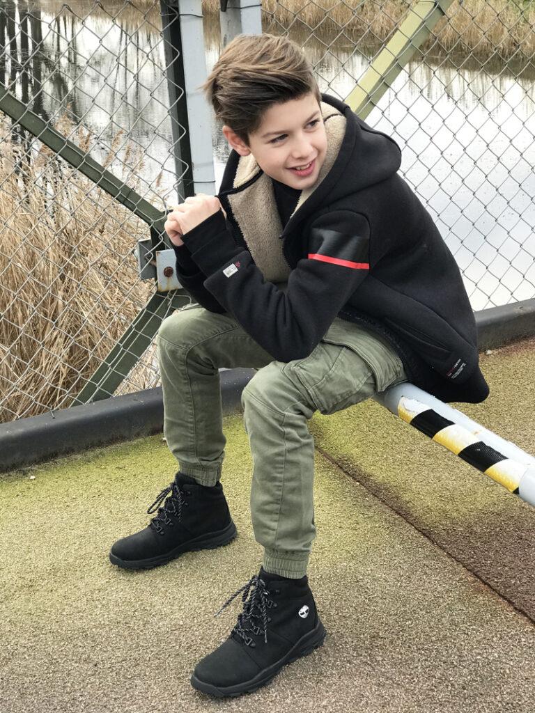 timberland jongensschoenen, zwarte hoge jongensschoenen